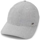 Ben Sherman Men's Linen Stripe Baseball Cap