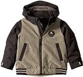 Burton Game Day Jacket (Toddler/Little Kids) (Bog Heather/True Black) Boy's Coat