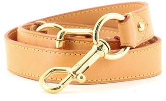 Louis Vuitton Adjustable Shoulder Strap Vachetta Leather Medium