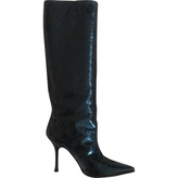 Jimmy Choo Exotic leathers boots