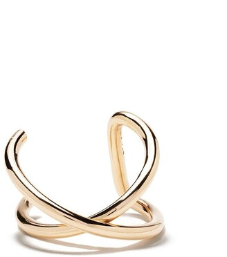 Zoë Chicco 14kt yellow gold Crossover ear cuff