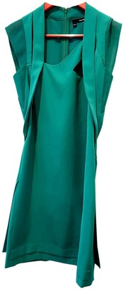 The Kooples Spring Summer 2019 Green Cotton Dresses