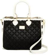 Betsey Johnson Scallop Triple Compartments Satchel