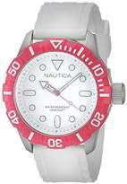 Nautica Unisex Quartz Watch with Resin A11603G