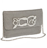 Whiting & Davis Serpents Chain-Mail Clutch Bag