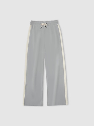 Jason Scott Colorblock Wide Leg Pants - Limestone