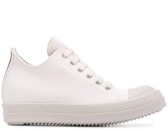 Rick Owens Wedge Sole Sneakers