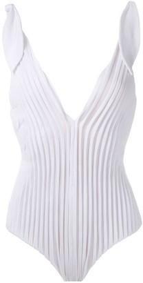 Adriana Degreas x Cult Gaia textured swimsuit