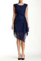 Eva Franco Lace Sleeveless Dress