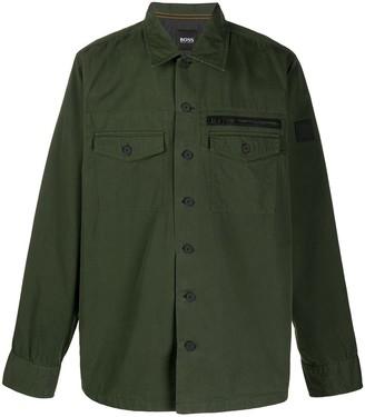 HUGO BOSS Chest-Pocket Longsleeved Shirt