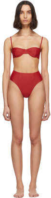 Haight Red Vintage Bikini