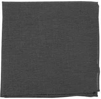Tie Bar Classic Chambray Warm Grey Pocket Square