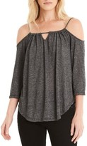 Michael Stars Women's Switchable Off The Shoulder Top