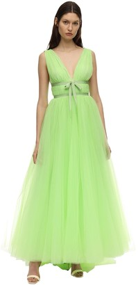 Brognano Tulle Long Dress