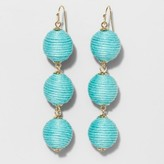 SUGARFIX by BaubleBar Triad Ball Drop Earrings