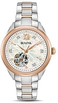 Bulova Two-Tone Automatic Watch, 34.5mm