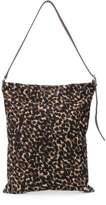 Burberry Pre-Owned leopard print shoulder bag
