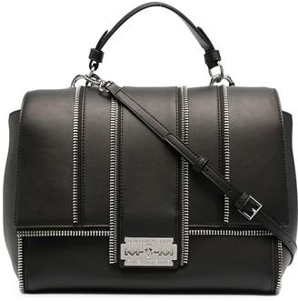 John Richmond Zip-Detail Tote Bag