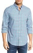 Vineyard Vines Men's Pine Frost Slim Fit Plaid Sport Shirt