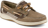 Sperry Ivyfish Metallic Python Accented Boat Shoes