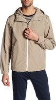 Kenneth Cole New York Hooded Chest Pocket Jacket