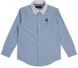 Ralph Lauren Kids Long-Sleeved Shirt (5-7 years)