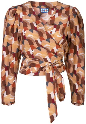 Lhd Abstract Wrap Top