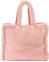Lola Large Teddy Faux-Fur Tote Bag