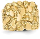 goldia 14k Gold Men's Nugget Ring