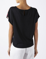 Alanza Woven Front Tee