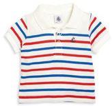Petit Bateau Baby's Striped Polo Shirt