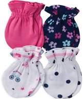 Gerber Newborn 4-Pack Mittens in Princess/Multi