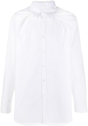 Valentino Detachable-Collar Long-Sleeve Shirt