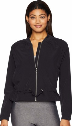 Skechers Women's Traveler Long Sleeve Full Zip Varsity Collar Jacket