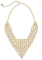 Kendra Scott Giada Statement Necklace in Ivory Pearl