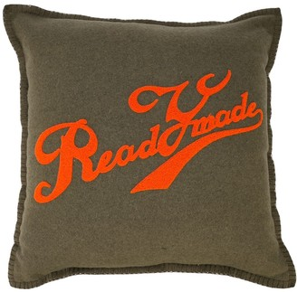 Readymade Logo Print Pillow