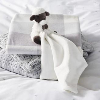 The White Company Luna Lamb Comforter, White, One Size