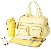 OiOi Carry All Diaper Bag - French Vanilla Lizard by