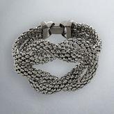 Simply vera vera wang jet-tone knot bracelet