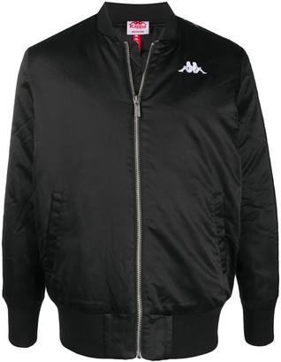 Kappa Logo Zipped Bomber Jacket
