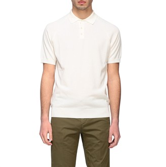 Paolo Pecora Polo Shirt Short-sleeved Polo Shirt In Basic Cotton