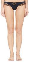 Kiki de Montparnasse Women's Lace-Inset Satin Thong