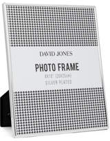 "David Jones Simple' Metal Photo Frame, 8 x10""/ 20 x 25 cm"