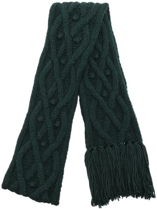 Isabel Marant Florens cable-knit scarf