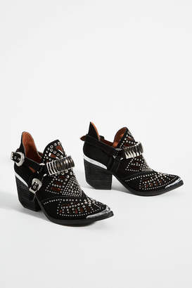 Jeffrey Campbell Calhoun Western Ankle Boots