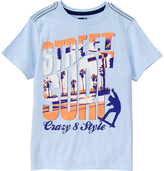 Crazy 8 Beau Blue 'Street Surf' Tee - Boys