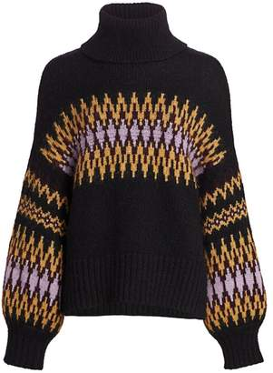 A.L.C. Tracey Fairisle Sweater