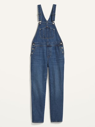 Old Navy Slouchy Straight Workwear Jean Overalls for Women