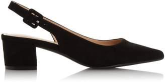 Dorothy Perkins Womens *Head Over Heels By Dune Black 'Cammile' Mid Heel Court Shoes, Black
