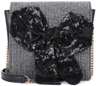 Rochas Exclusive to mytheresa.com a embellished leather shoulder bag